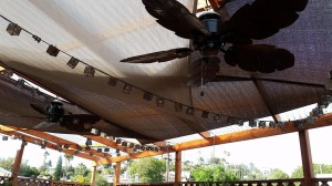 Patio Fans & Shade